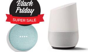 Black Friday slimme speaker aanbiedingen voor Google Home en mini.